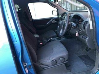 2007 Nissan Navara D40 ST-X Blue 6 Speed Manual Utility