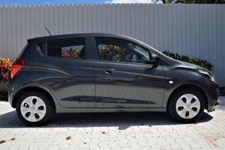 2017 Holden Spark MP MY17 LS Son of a Gun Grey 5 Speed Manual Hatchback.