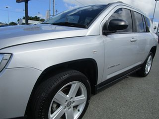 2012 Jeep Compass MK MY13 Limited CVT Auto Stick Silver 6 Speed Constant Variable Wagon