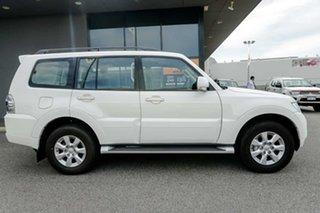 2019 Mitsubishi Pajero NX MY20 GLX White 5 Speed Sports Automatic Wagon.
