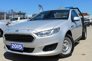2015 Ford Falcon FG X Super Cab Silver 6 Speed Sports Automatic Cab Chassis.