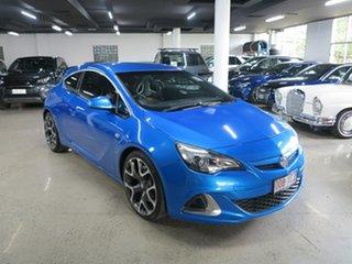 2015 Holden Astra PJ MY16 VXR Blue 6 Speed Manual Hatchback.
