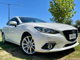 2013 Mazda 3 BM5438 SP25 SKYACTIV-Drive GT Snowflake White 6 Speed Sports Automatic Hatchback.
