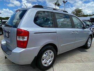 2006 Kia Carnival VQ MY07 EX Silver 4 Speed Sports Automatic Wagon