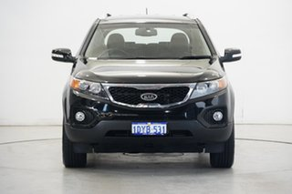 2010 Kia Sorento XM MY10 SLi Black 6 Speed Sports Automatic Wagon.