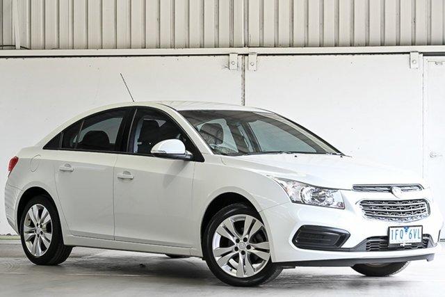 Used Holden Cruze JH Series II MY15 Equipe Laverton North, 2015 Holden Cruze JH Series II MY15 Equipe White 6 Speed Sports Automatic Sedan