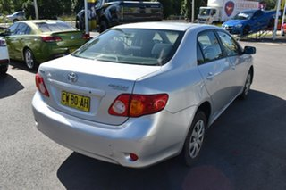 2007 Toyota Corolla ZZE122R 5Y Ascent Silver 4 Speed Automatic Sedan.