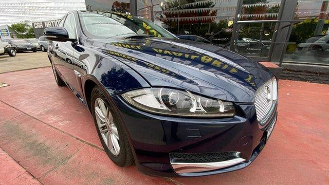 Used Jaguar XF X250 MY12 Luxury Maidstone, 2012 Jaguar XF X250 MY12 Luxury Blue 8 Speed Sports Automatic Sedan