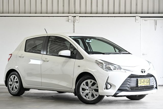 Used Toyota Yaris NCP131R SX Laverton North, 2017 Toyota Yaris NCP131R SX White 4 Speed Automatic Hatchback