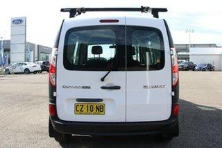 2018 Renault Kangoo F61 Phase II Maxi LWB EDC White 6 Speed Sports Automatic Dual Clutch Van