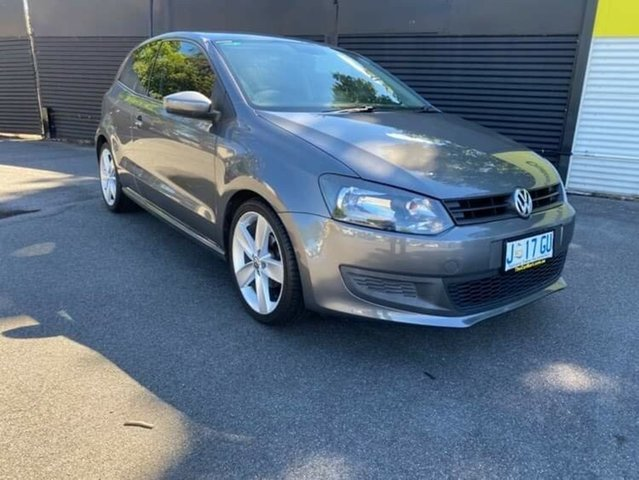 Used Volkswagen Polo 6R MY11 Trendline DSG Launceston, 2011 Volkswagen Polo 6R MY11 Trendline DSG Grey 7 Speed Sports Automatic Dual Clutch Hatchback