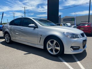 2016 Holden Commodore VF II MY16 SV6 Silver 6 Speed Sports Automatic Sedan.