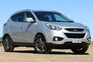 2014 Hyundai ix35 LM3 MY14 SE Silver 6 Speed Sports Automatic Wagon.