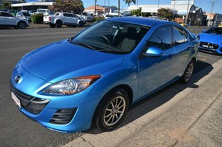 2011 Mazda 3 BL 10 Upgrade Neo Blue 6 Speed Manual Sedan.