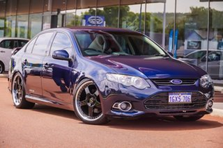 2013 Ford Falcon FG MkII XR6 Turbo Blue 6 Speed Sports Automatic Sedan.