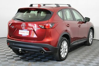 2013 Mazda CX-5 KE1021 MY13 Akera SKYACTIV-Drive AWD Red 6 Speed Sports Automatic Wagon