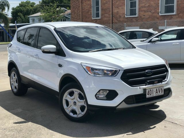 Used Ford Escape ZG Ambiente Chermside, 2016 Ford Escape ZG Ambiente White 6 Speed Sports Automatic SUV