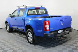 2012 Holden Colorado RG MY13 LX Crew Cab Blue 6 Speed Sports Automatic Utility