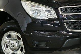 2012 Holden Colorado RG MY13 LX Crew Cab 4x2 Black 6 Speed Sports Automatic Utility.