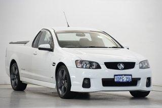 2011 Holden Ute VE II SV6 Thunder White 6 Speed Manual Utility