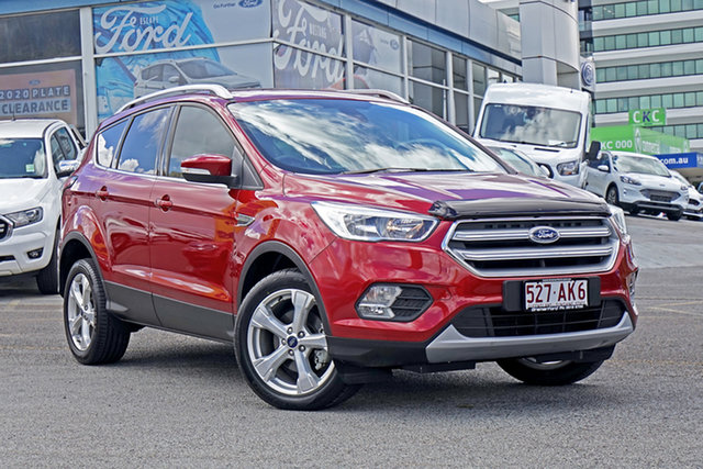 Used Ford Escape ZG 2018.00MY Trend Springwood, 2017 Ford Escape ZG 2018.00MY Trend Red 6 Speed Sports Automatic SUV