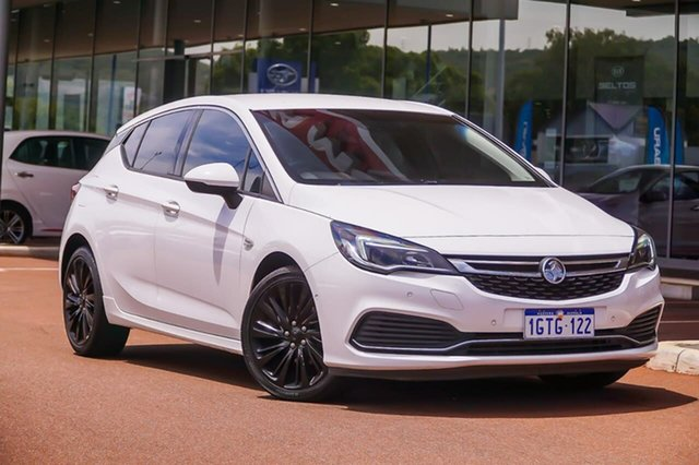 Used Holden Astra BK MY18.5 RS-V Gosnells, 2018 Holden Astra BK MY18.5 RS-V White 6 Speed Sports Automatic Hatchback