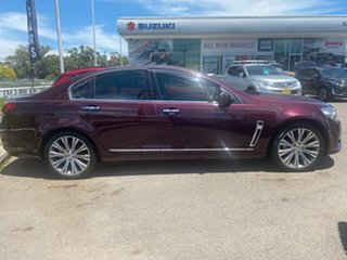 2015 Holden Calais VF MY15 V Burgundy 6 Speed Sports Automatic Sedan.