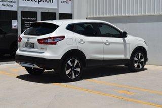 2017 Nissan Qashqai J11 N-Sport White 1 Speed Constant Variable Wagon.