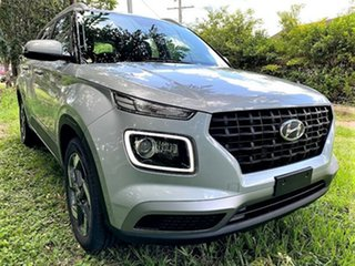 2020 Hyundai Venue QX.V3 MY21 Active Typhoon Silver 6 Speed Automatic Wagon.