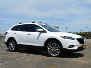 2014 Mazda CX-9 TB10A5 Luxury Activematic AWD White 6 Speed Sports Automatic Wagon.