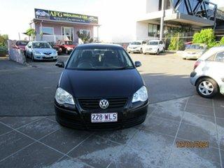 2007 Volkswagen Polo 9N MY07 Upgrade TDI Black 5 Speed Manual Hatchback.