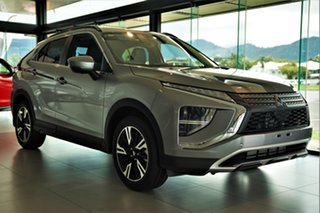 2020 Mitsubishi Eclipse Cross YB MY21 Aspire 2WD Titanium Grey 8 Speed Constant Variable Wagon.