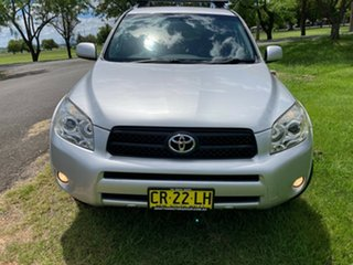 2008 Toyota RAV4 ACA33R MY09 Cruiser Silver Pearl 5 Speed Manual Wagon