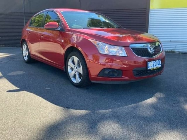 Used Holden Cruze JH Series II MY12 CD Launceston, 2012 Holden Cruze JH Series II MY12 CD Red 6 Speed Sports Automatic Hatchback