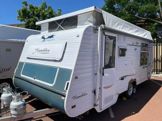 2009 Golden Eagle Rambler Caravan.