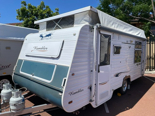 Used Golden Eagle Rambler St James, 2009 Golden Eagle Rambler Caravan