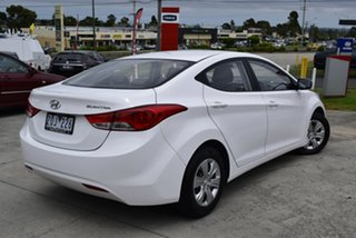 2012 Hyundai Elantra MD Active White 6 Speed Sports Automatic Sedan