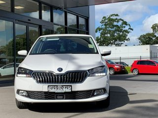 2020 Skoda Fabia NJ MY20.5 81TSI DSG White 7 Speed Sports Automatic Dual Clutch Hatchback