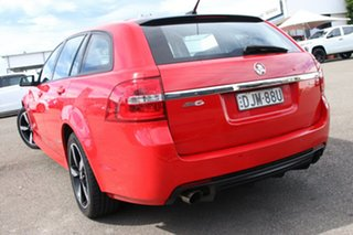 2016 Holden Commodore VF II MY16 SV6 Sportwagon Black Red 6 Speed Sports Automatic Wagon.