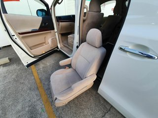 2008 Toyota Alphard White 6 Speed Automatic Wagon.