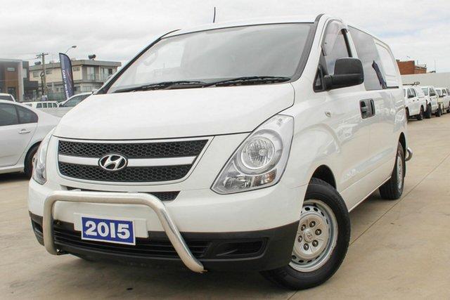 Used Hyundai iLOAD TQ2-V MY15 Coburg North, 2015 Hyundai iLOAD TQ2-V MY15 White 5 Speed Automatic Van