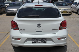2015 Holden Cruze JH Series II MY15 Equipe White 6 Speed Sports Automatic Hatchback