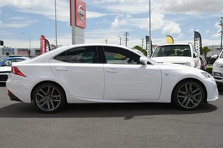 2015 Lexus IS ASE30R IS200t F Sport White 8 Speed Sports Automatic Sedan