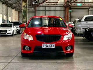 2013 Holden Cruze JH Series II MY13 SRi Red 6 Speed Sports Automatic Hatchback.