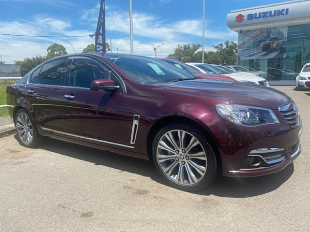 Used Holden Calais VF MY15 V Cardiff, 2015 Holden Calais VF MY15 V Burgundy 6 Speed Sports Automatic Sedan
