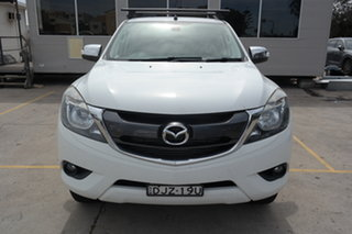 2016 Mazda BT-50 UR0YF1 GT White 6 Speed Sports Automatic Utility.