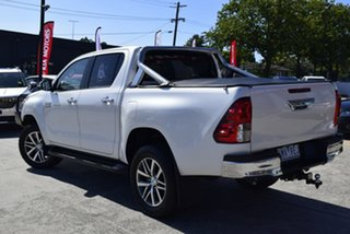 2018 Toyota Hilux GUN126R SR5 Double Cab White 6 Speed Sports Automatic Utility