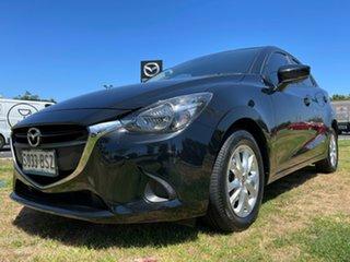 2017 Mazda 2 DJ2HAA Maxx SKYACTIV-Drive Jet Black 6 Speed Sports Automatic Hatchback.