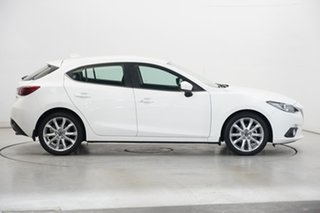 2014 Mazda 3 BM5438 SP25 SKYACTIV-Drive GT Pearl White 6 Speed Sports Automatic Hatchback
