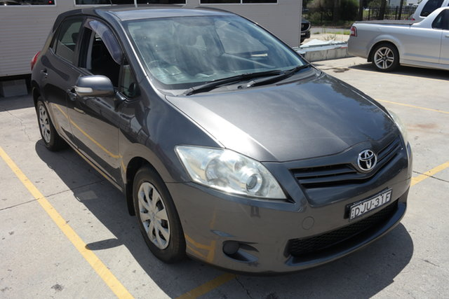 Used Toyota Corolla ZRE152R MY10 Ascent Maryville, 2010 Toyota Corolla ZRE152R MY10 Ascent Grey 4 Speed Automatic Hatchback